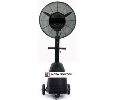 Noleggio condizionamento industriale nota service torino for Ventilatore nebulizzatore per interni